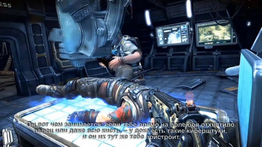 Bulletstorm - StoryCharacter Video Dev Diary 1 (русская версия)