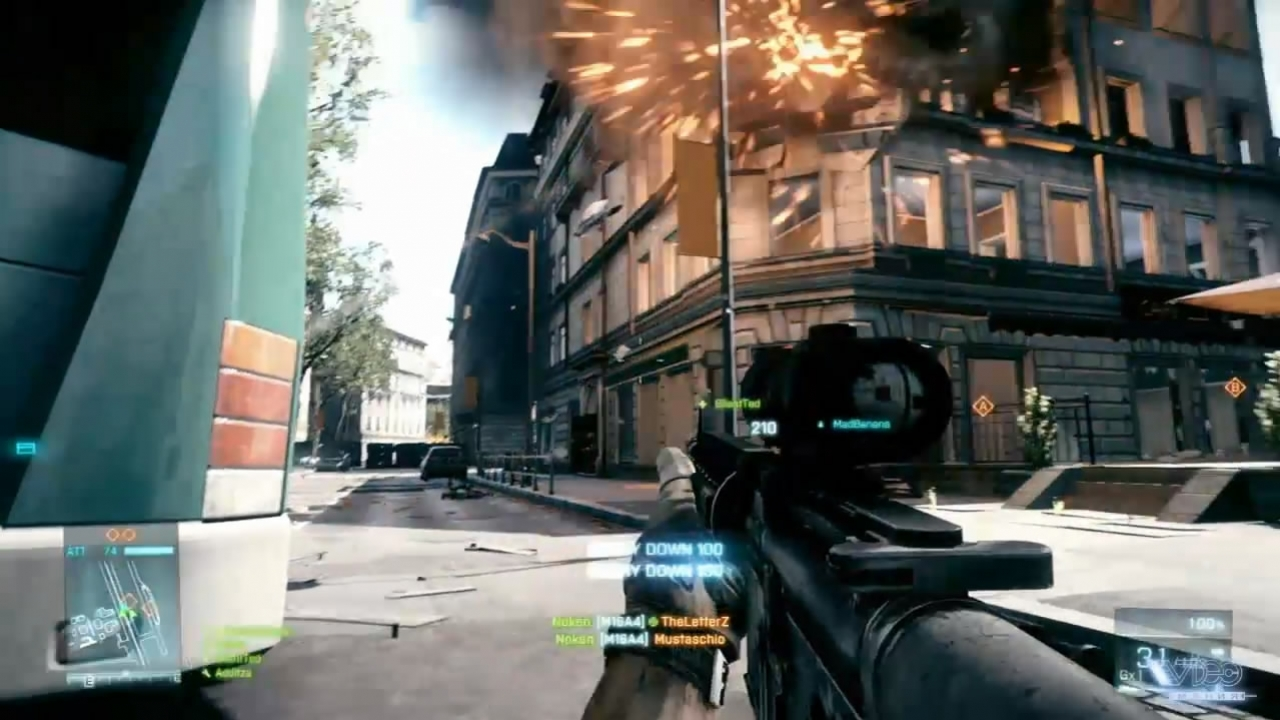 Battlefield 3 - Operation Metro Map Trailer (с русскими субтитрами)