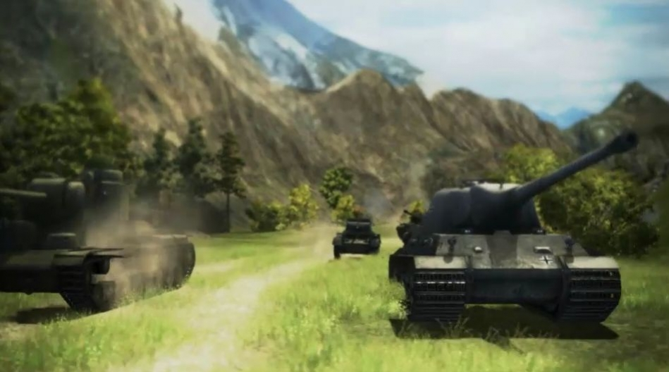 World of Tanks - Mountains and Fields Trailer