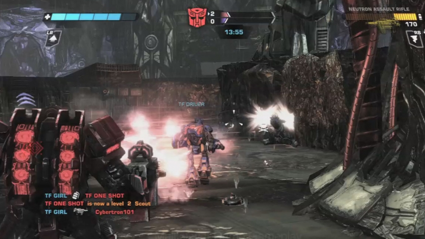 Transformers: War for Cybertron - Multiplayer Demo Trailer