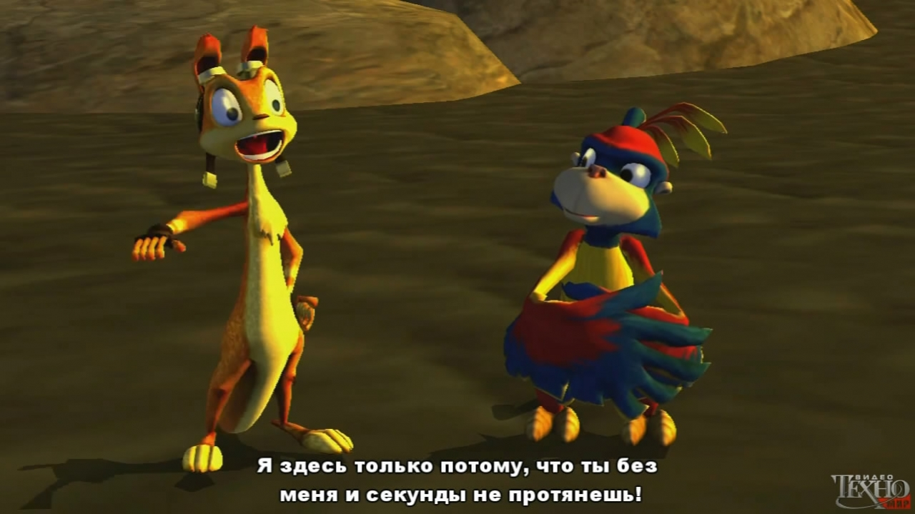 The Jak and Daxter Trilogy - Трейлер (с русскими субтитрами)