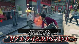 Yakuza: Like a Dragon. Геймплей с Tokyo Game Show 2019