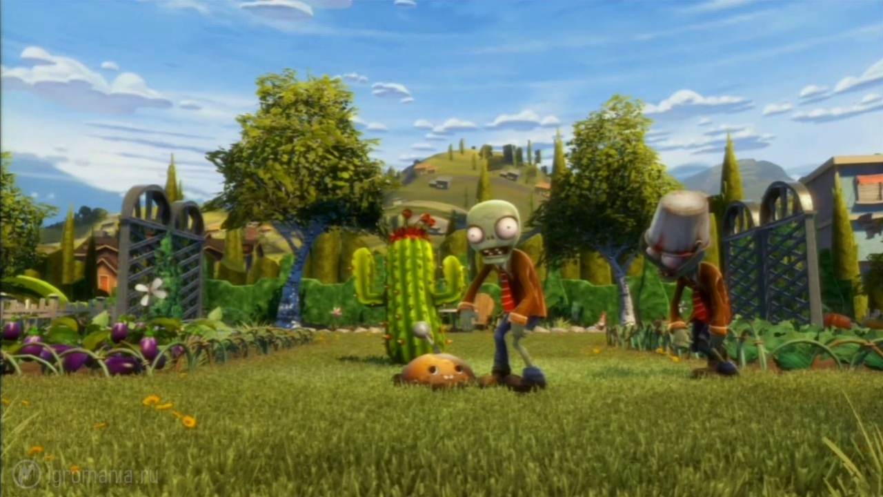 Plants vs. Zombies Garden Warfare - Начало игры