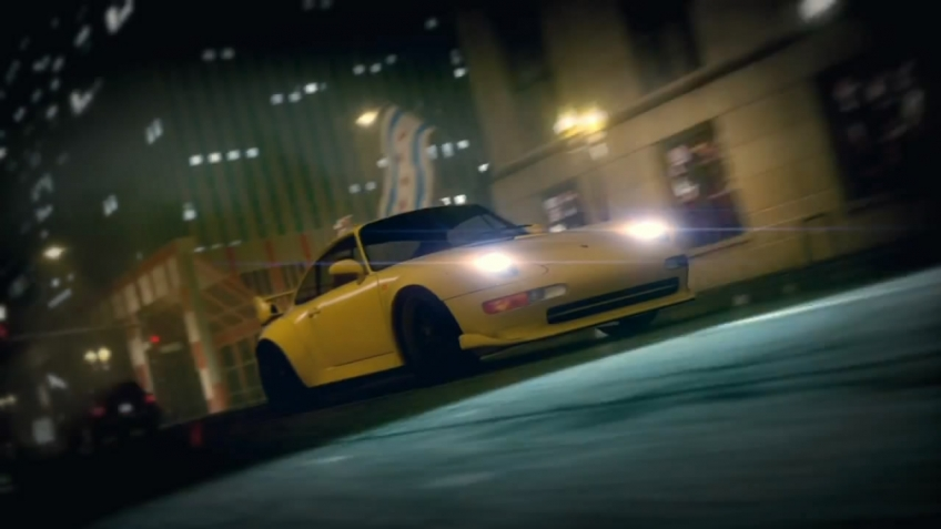 Need for Speed: The Run - E3 2011 Death from Above Trailer