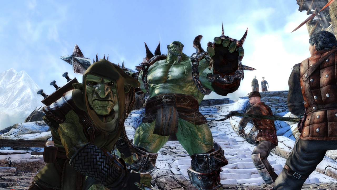 Of Orcs And Men - Начало игры