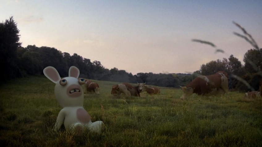 Rabbids Go Home - To The Moon оr Bust Trailer 1