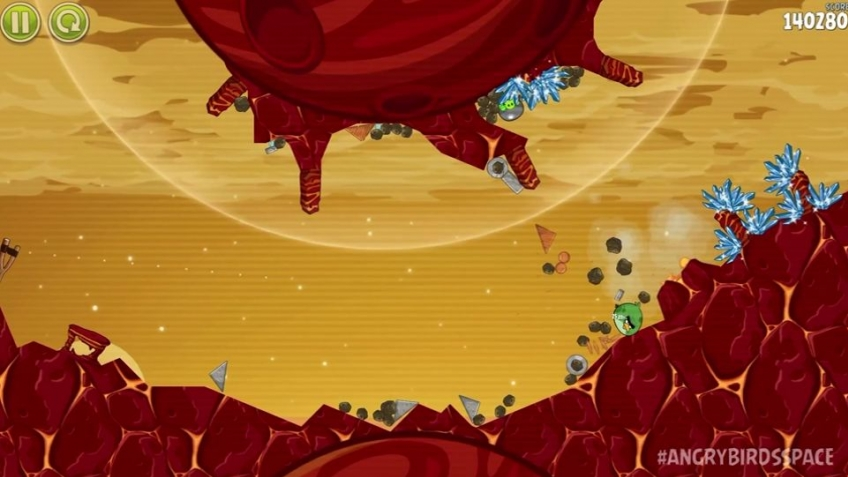 Angry Birds Space - Red Planet Gameplay Trailer