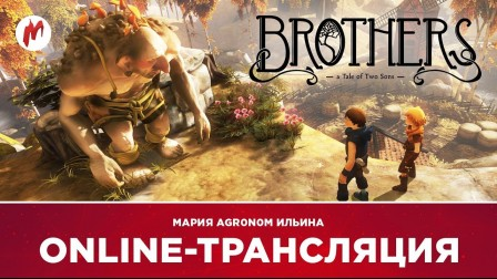 Запись стрима Brothers: a Tale of Two Sons с Марией aka agr0n0m