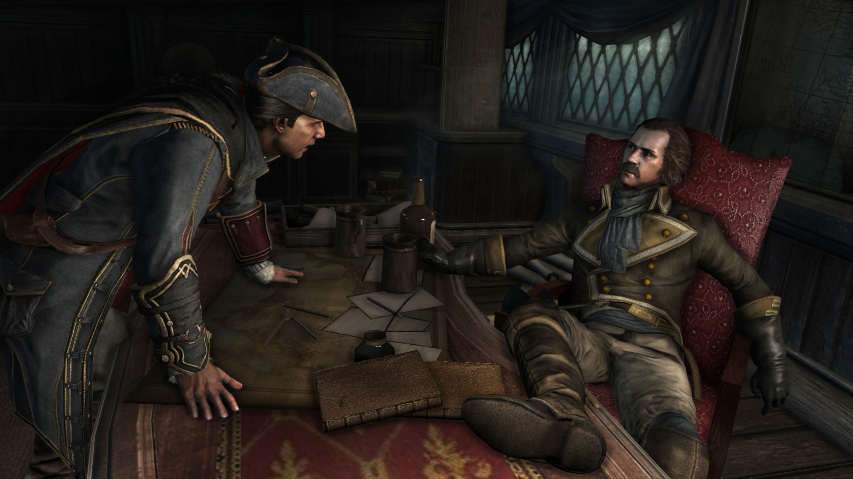 Assassin's Creed3 - Начало игры