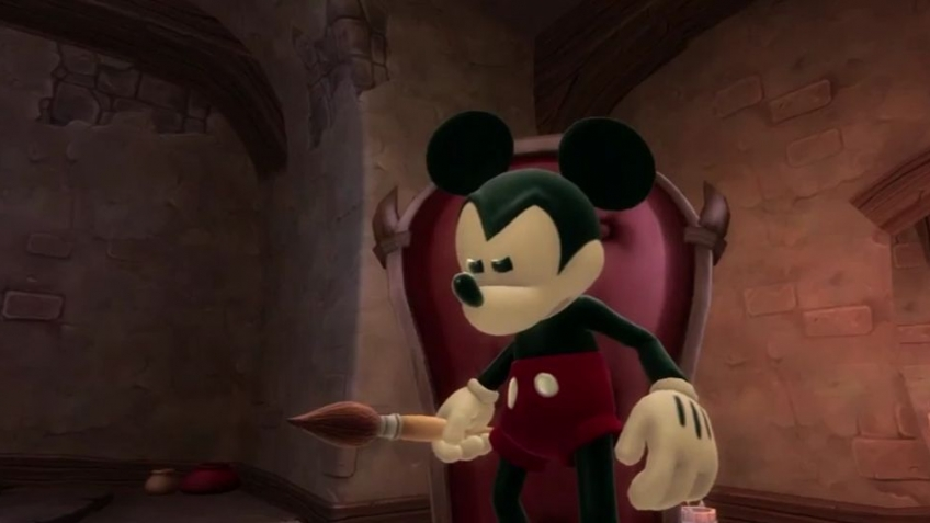 Disney Epic Mickey 2: The Power of Two - Paint and Thinner Gameplay Trailer