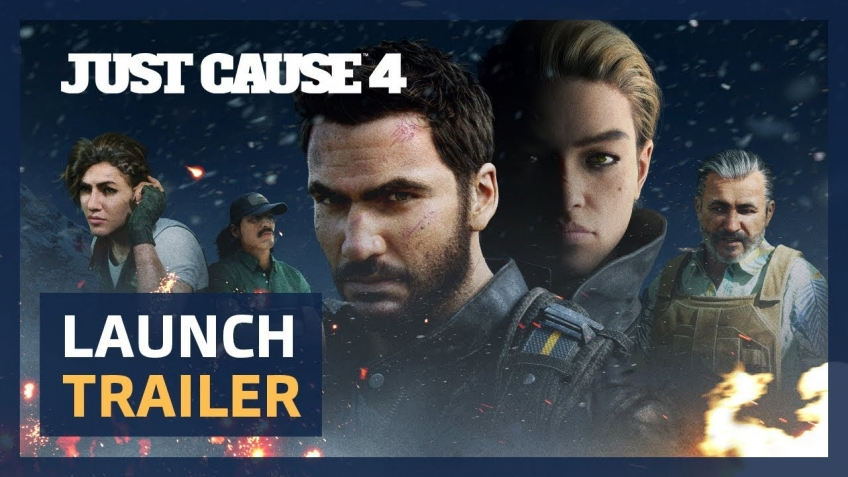 Just Cause4. Launch Trailer
