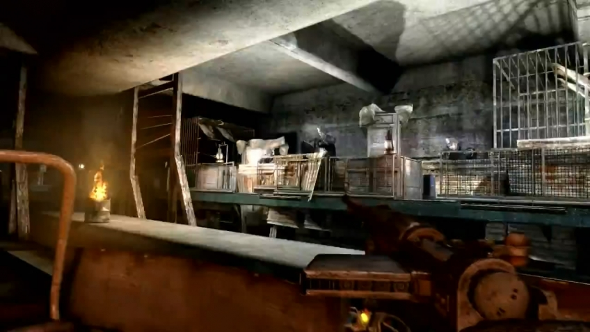 Metro: Last Light - E3 2011 Gameplay Demo Part 3 Trailer