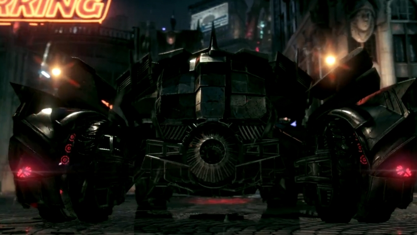 Batman: Arkham Knight - E3 2014 Batmobile Battle Mode Video