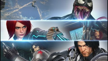 Marvel vs. Capcom: Infinite. Трейлер Winter Soldier, Black Widow & Venom
