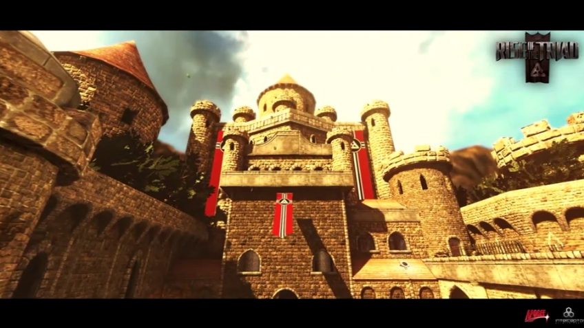 Rise of the Triad (2012) - Multiplayer Level Fly-Through