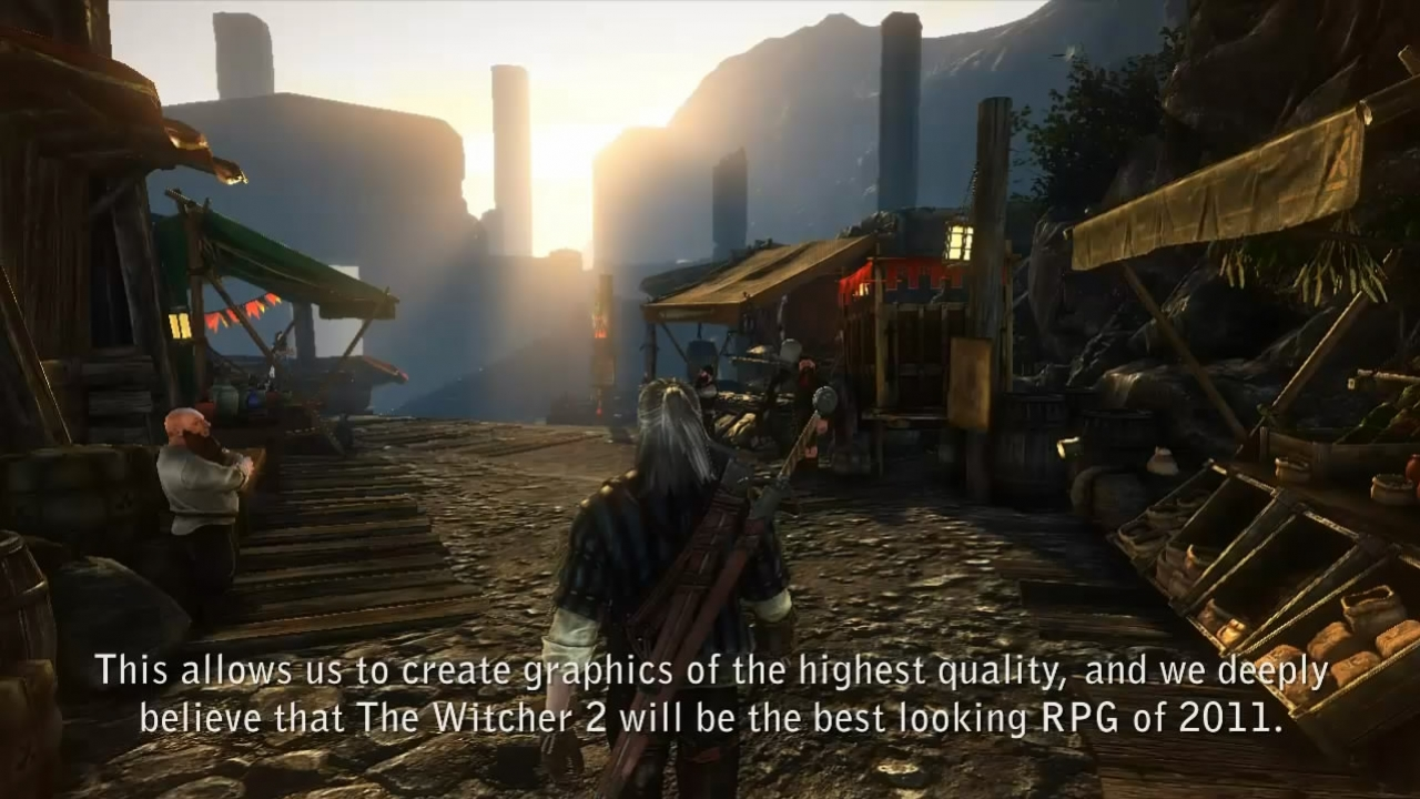 The Witcher 2: Assassins of Kings - Locations Video Dev Diary 4